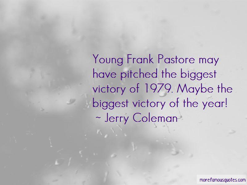 Frank Pastore Quotes