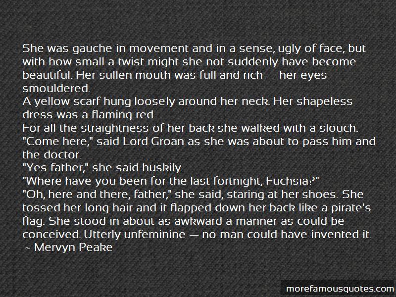 Fuchsia Groan Quotes