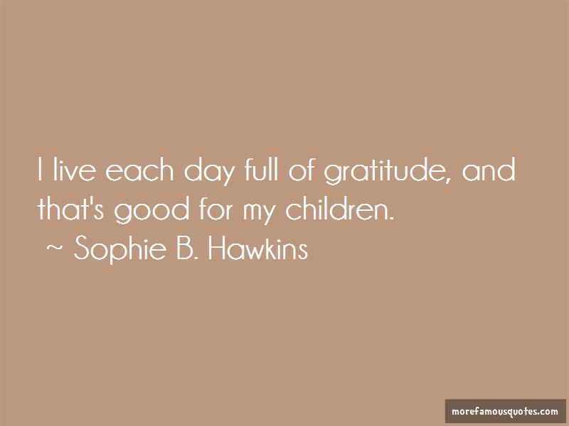 Full Of Gratitude Quotes