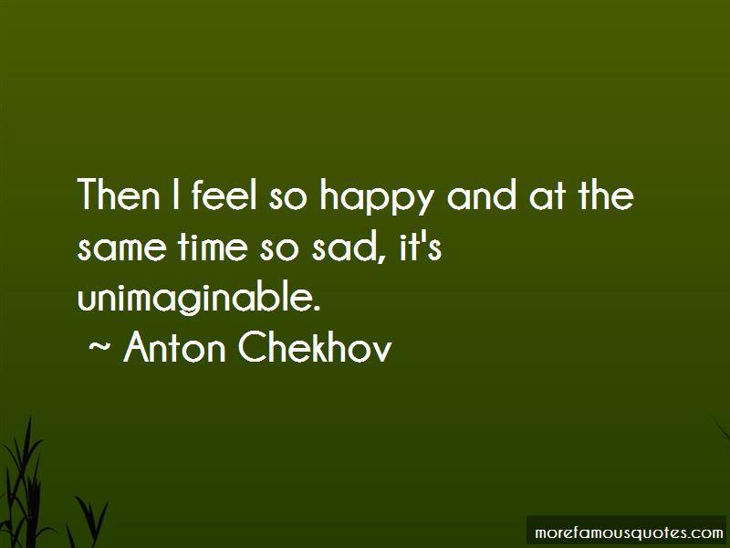 Happy Sad Same Time Quotes
