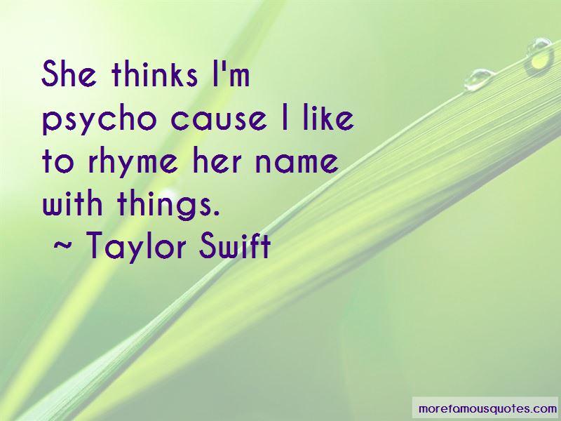 I'm Psycho Quotes