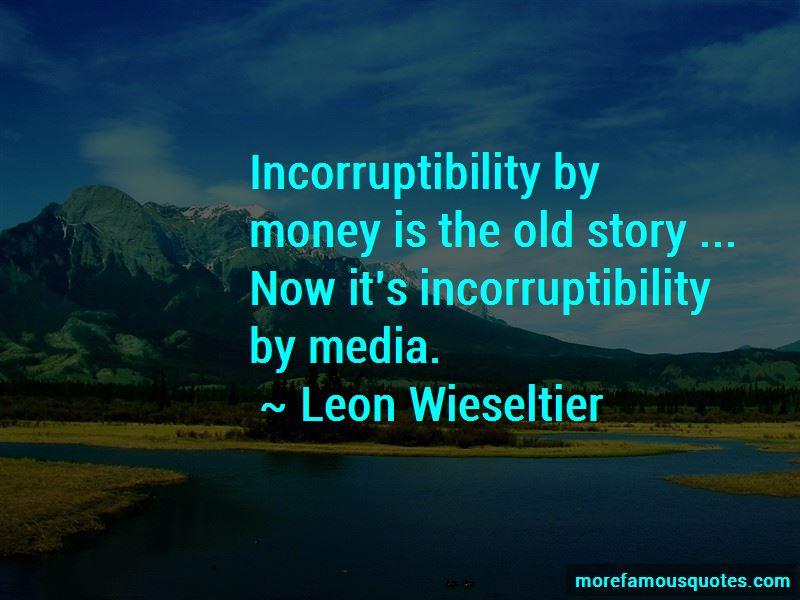 Incorruptibility Quotes