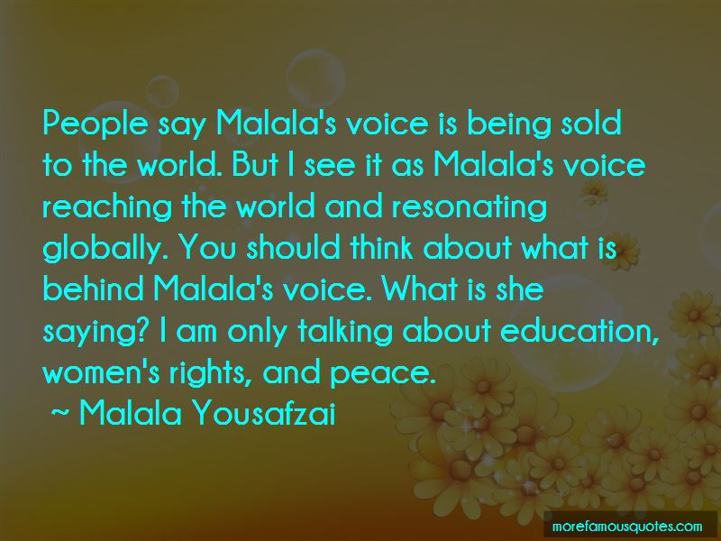 Malala's Quotes
