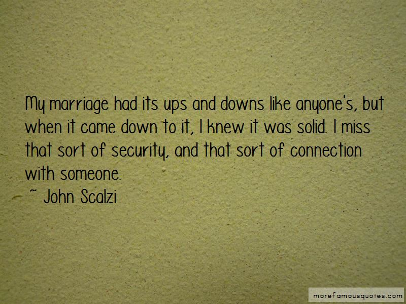 Marriage Ups And Downs Quotes