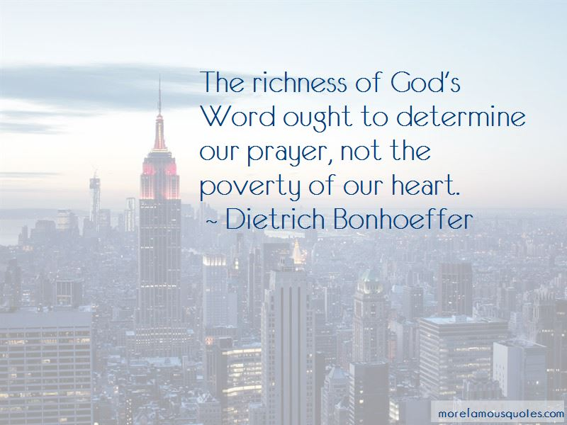 Poverty And Richness Quotes