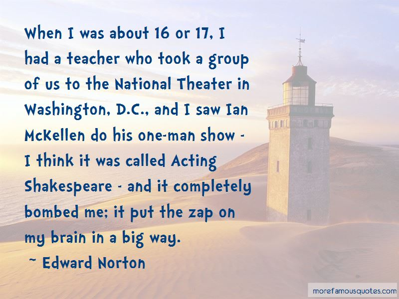 Acting Shakespeare Quotes Pictures 2