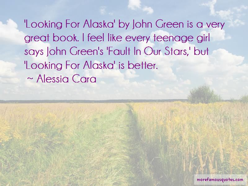 Quotes About Alaska In Looking For Alaska: top 1 Alaska In ...