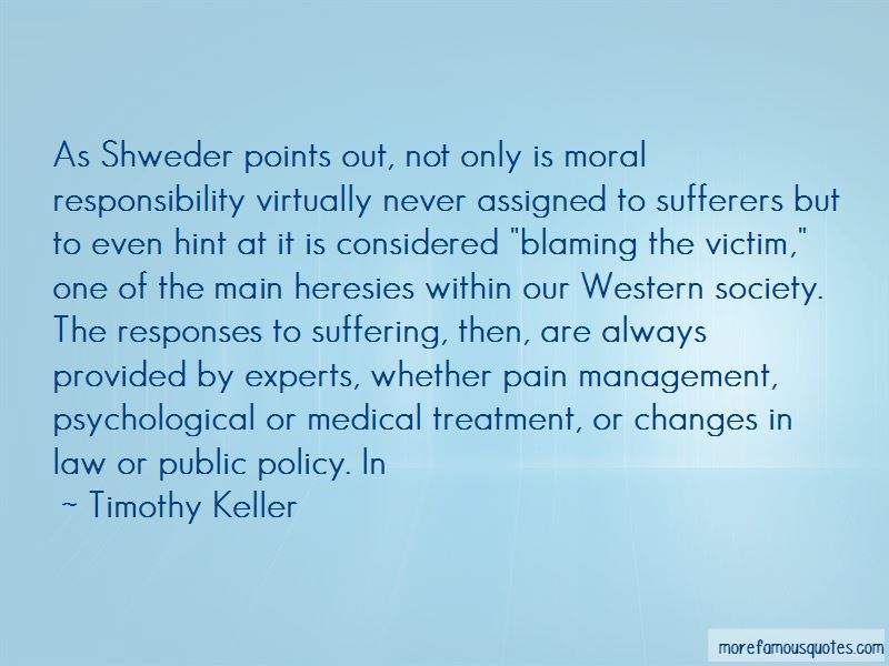 Quotes About Blaming The Victim