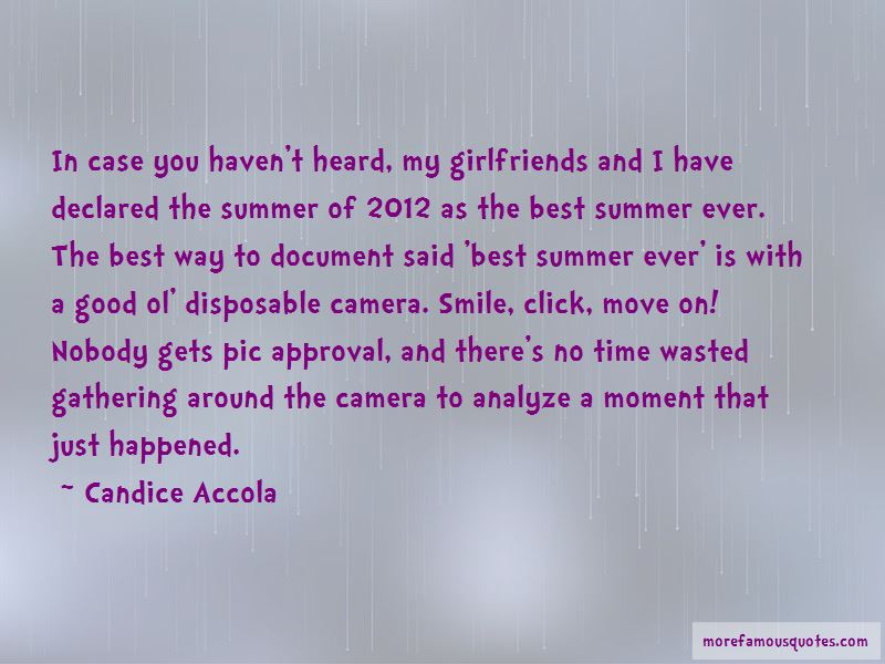 Quotes About Camera And Smile