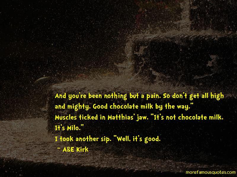 Chocolate Milk Quotes Pictures 2