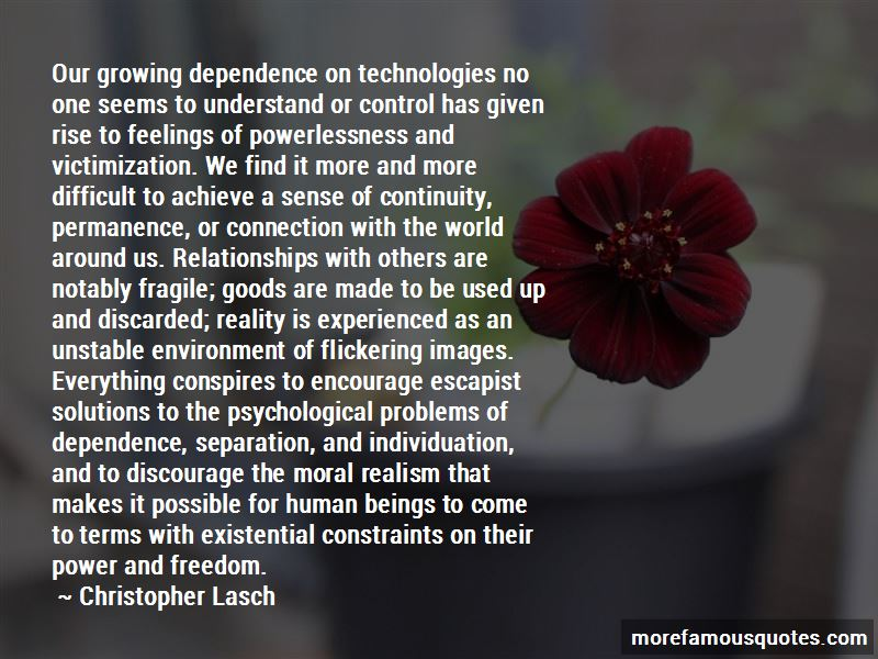 Dependence Power Quotes Pictures 4