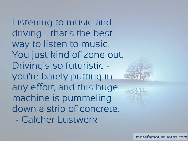 Quotes About Driving And Listening To Music
