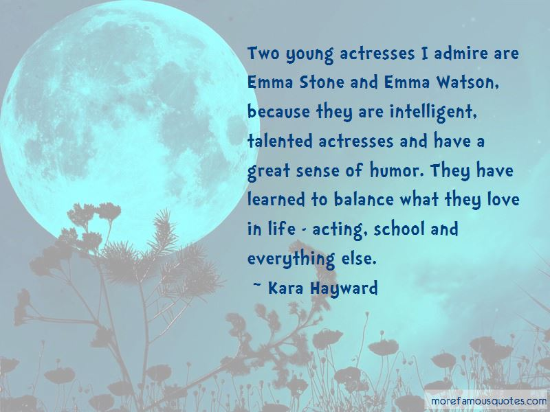 Quotes About Emma Stone