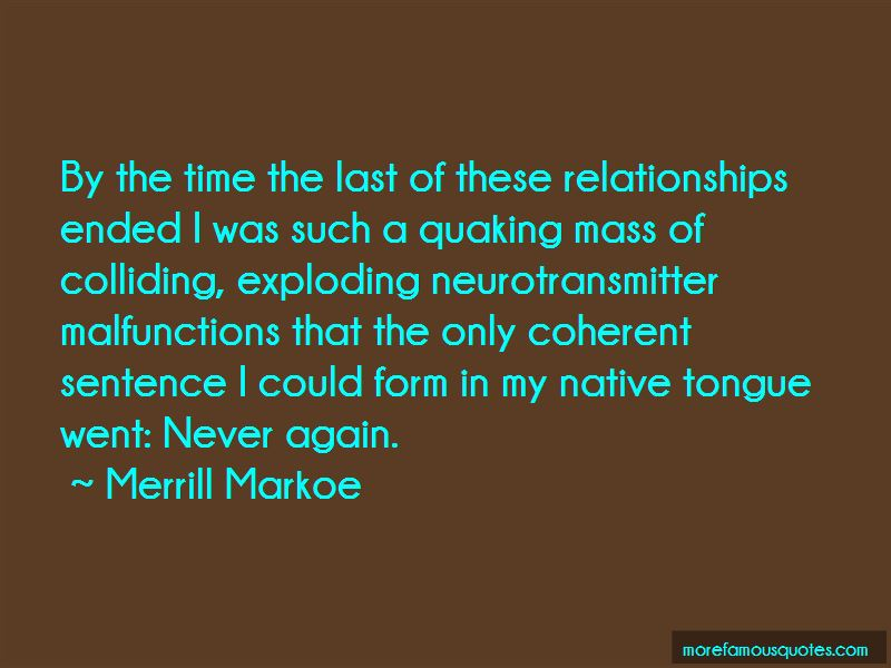 Quotes About Ended Relationships
