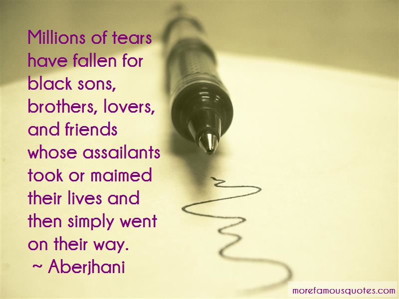 Quotes About Fallen Brothers