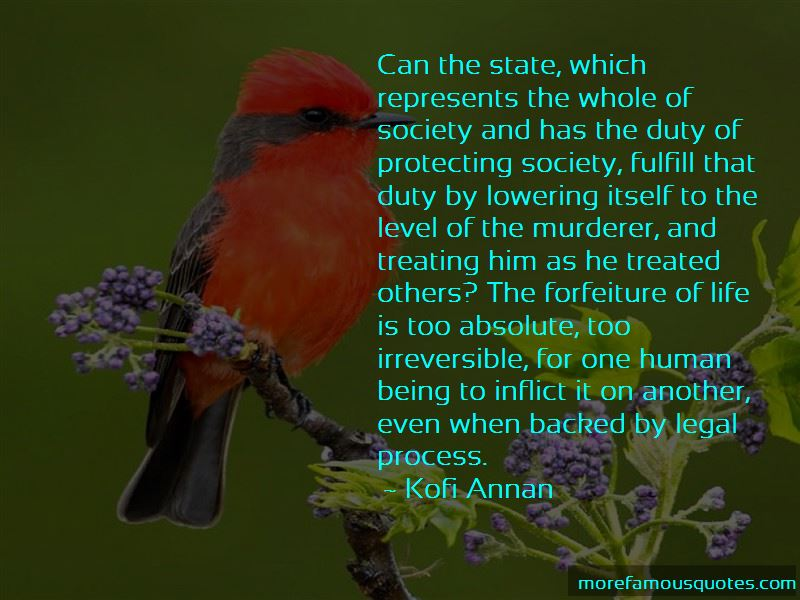 Quotes About Forfeiture