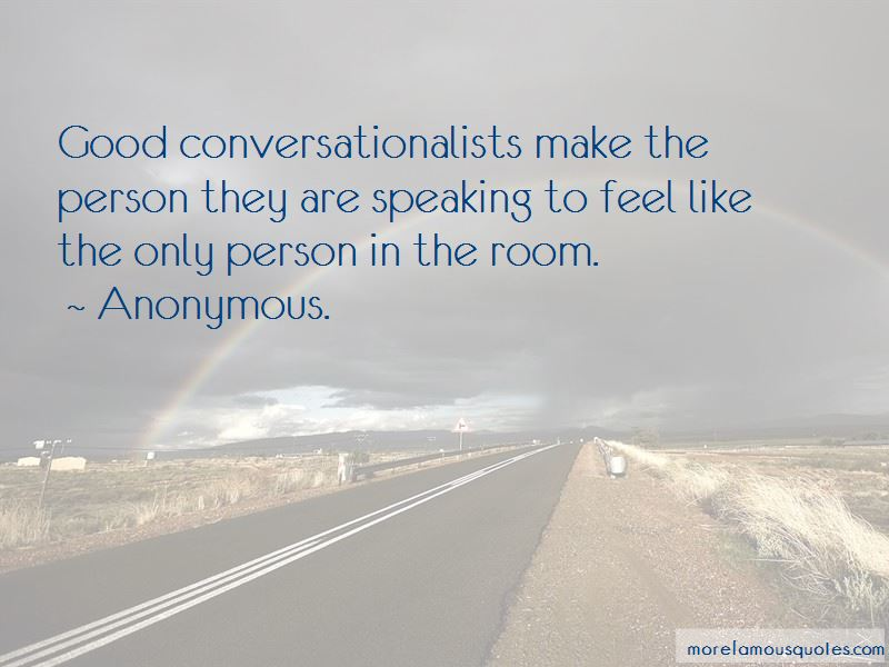 Quotes About Good Conversationalists