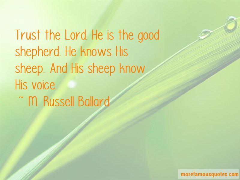 Good Shepherd Quotes Pictures 3