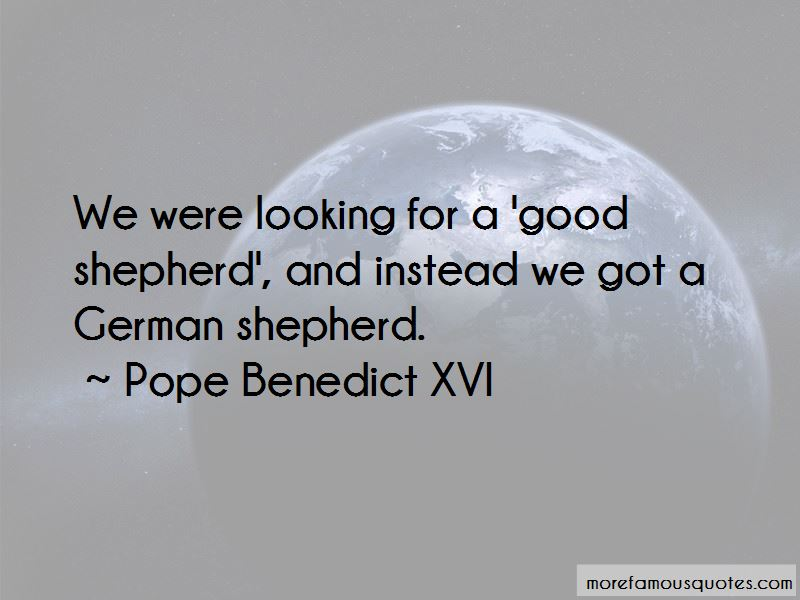 Quotes About Good Shepherd