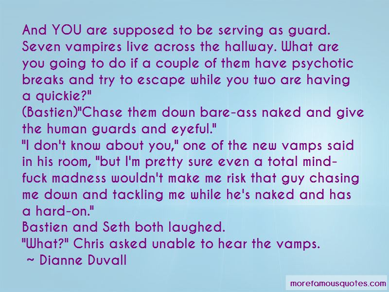 Quotes About Having Guards Up