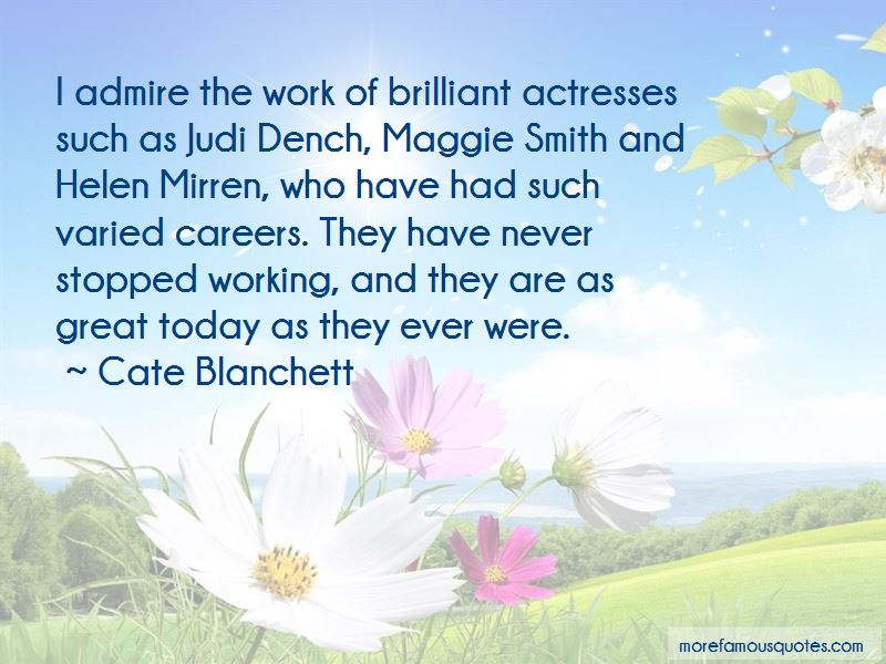 Quotes About Judi Dench