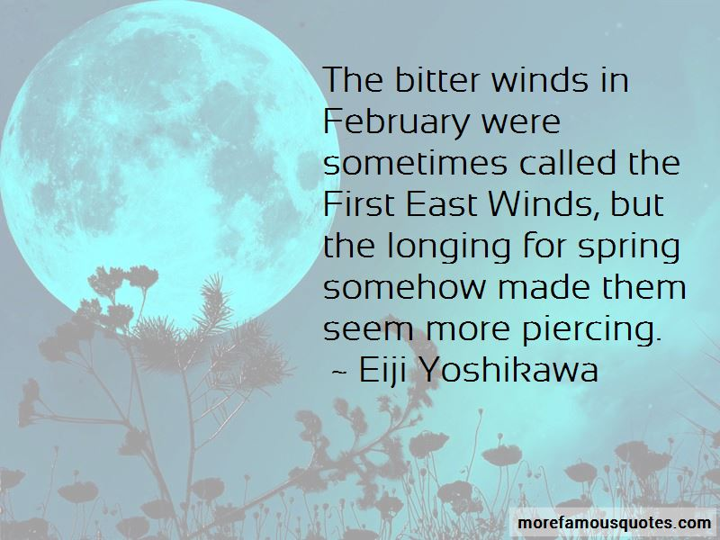 Quotes About Longing For Spring