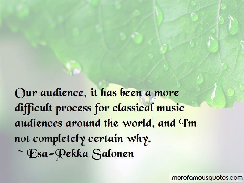 Quotes About Music Audiences
