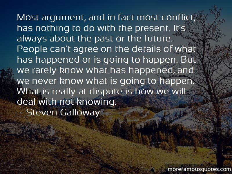 Quotes About Not Knowing What Will Happen In The Future: top