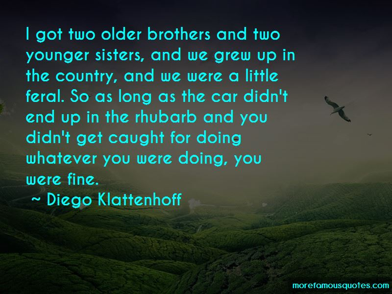 Older Sisters And Younger Brothers Quotes Pictures 3