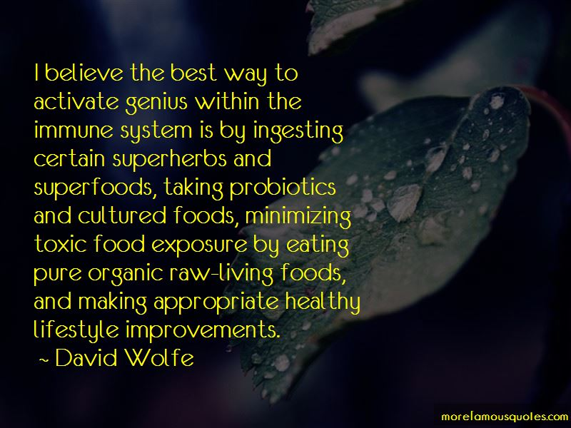 Quotes About Organic Lifestyle
