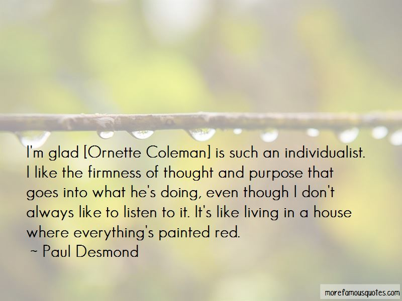 Quotes About Ornette Coleman