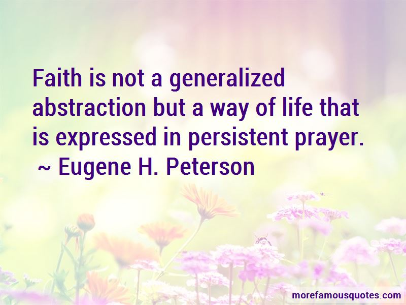 Quotes About Persistent Prayer