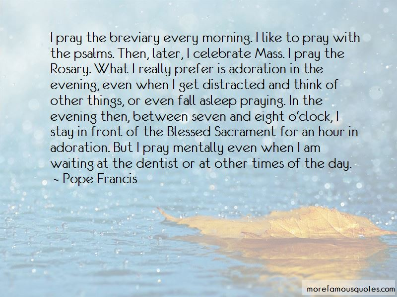 Quotes About Praying Rosary