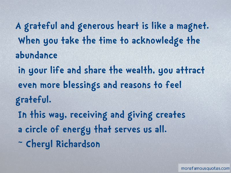 Receiving Your Blessings Quotes Pictures 2