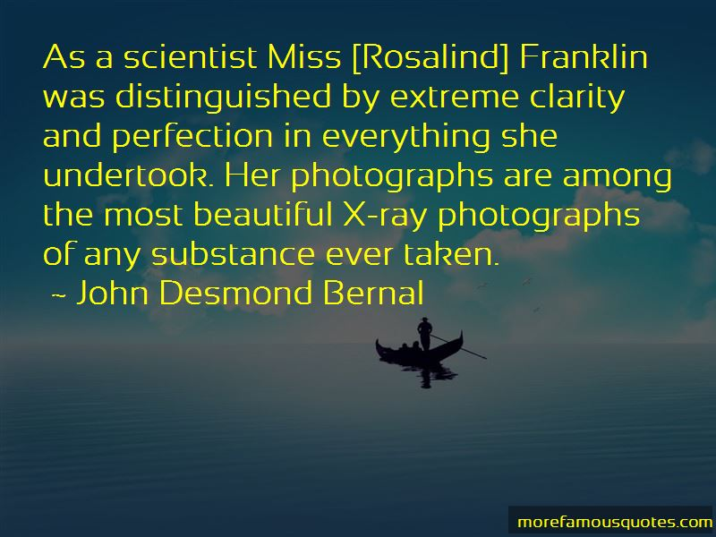 Quotes About Rosalind Franklin
