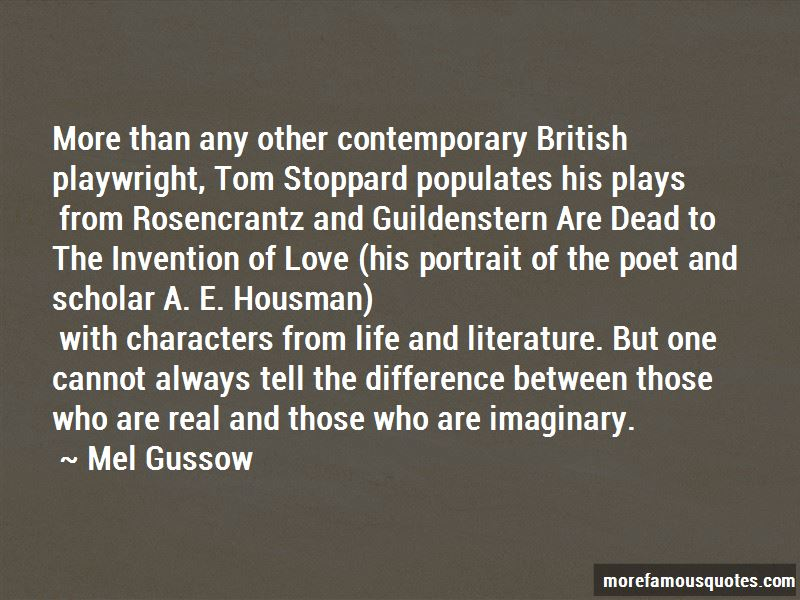 the purpose of rosencrantz and guildenstearn Rosencrantz (radcliffe) and guildenstern (joshua mcguire) are the two minor characters from hamlet who are brought center-stage, but consigned still to the margins of shakespeare's action as it.