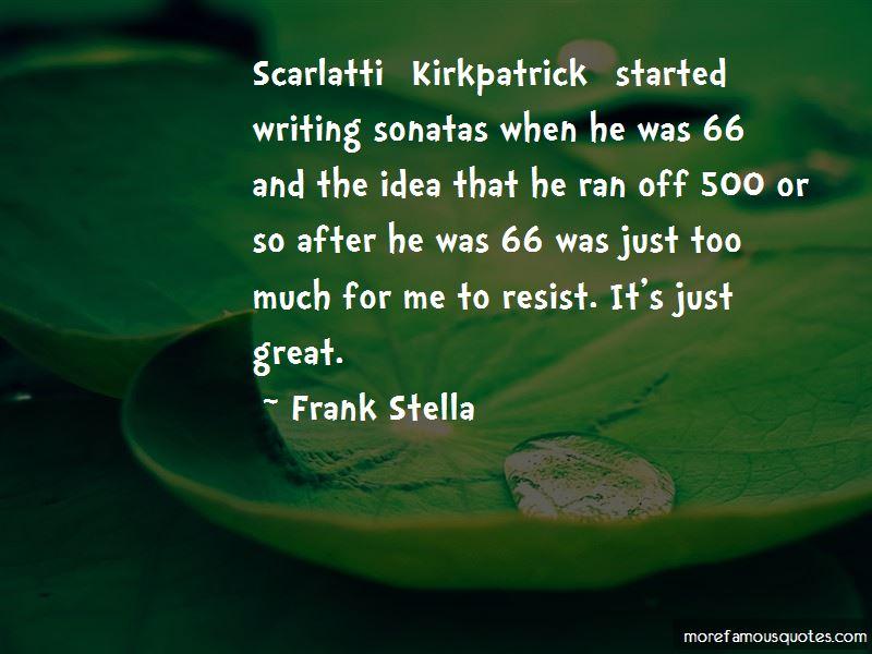 Quotes About Scarlatti