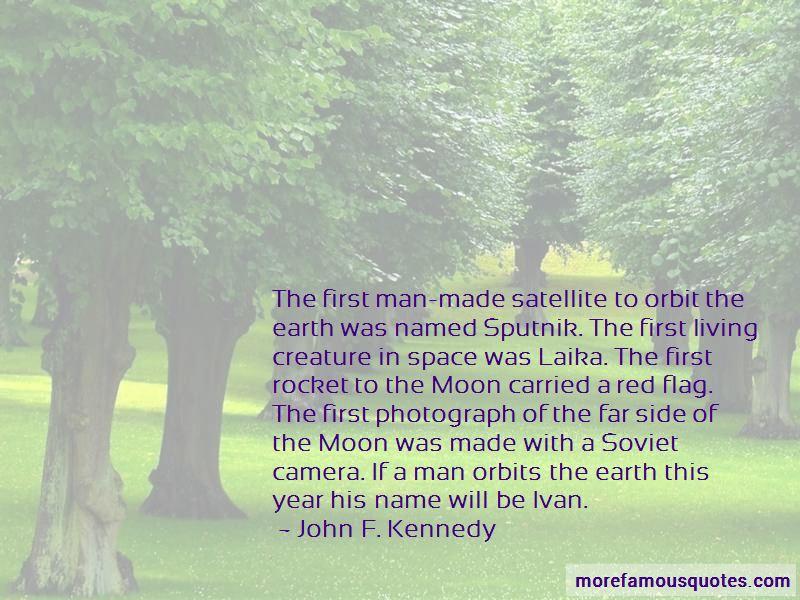 Quotes About Sputnik Satellite