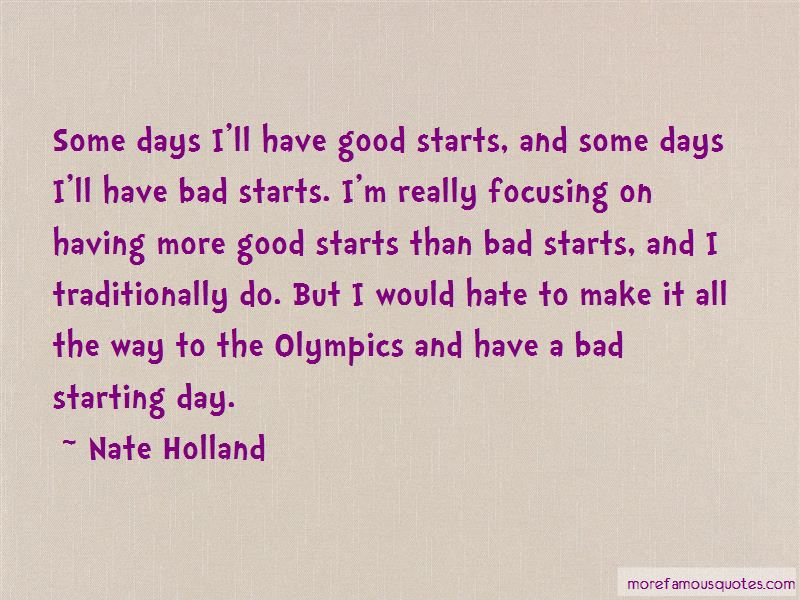 Quotes About Starting A Bad Day