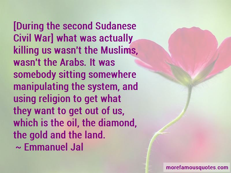 Quotes About Sudanese Civil War