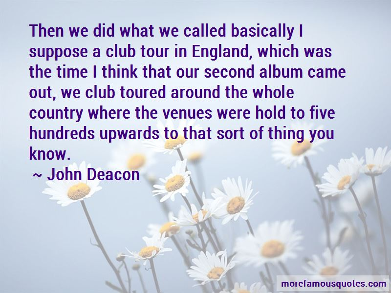 Quotes About Tour
