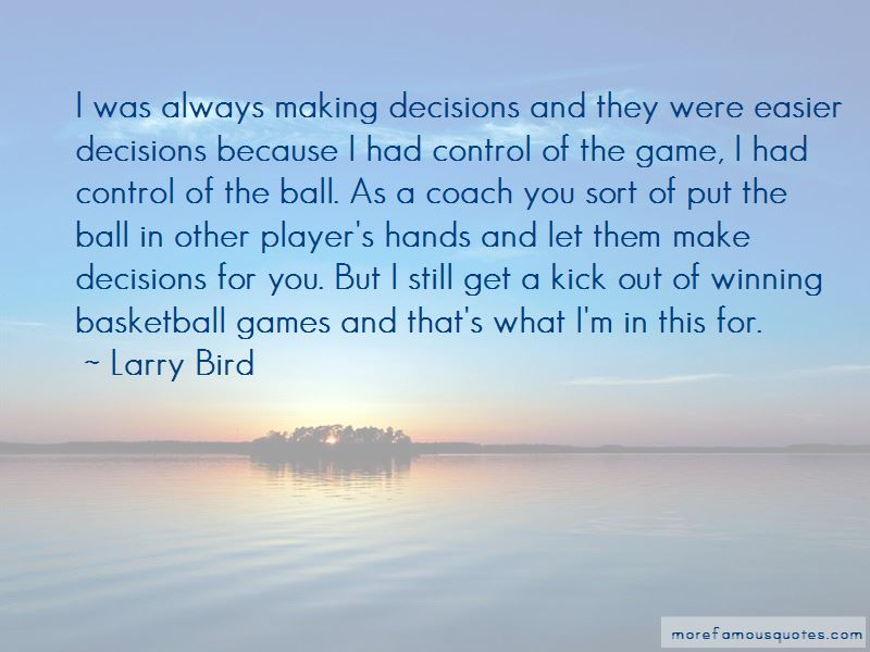 Quotes About Winning Basketball Games