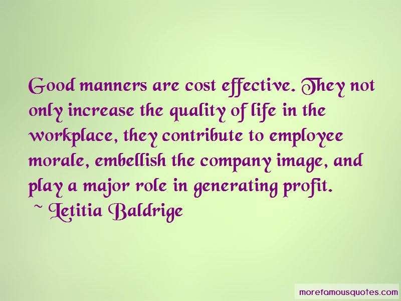 Quotes About Workplace Morale