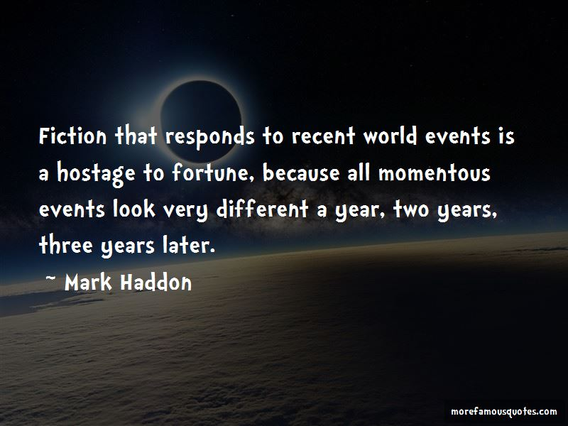 Quotes About World Events