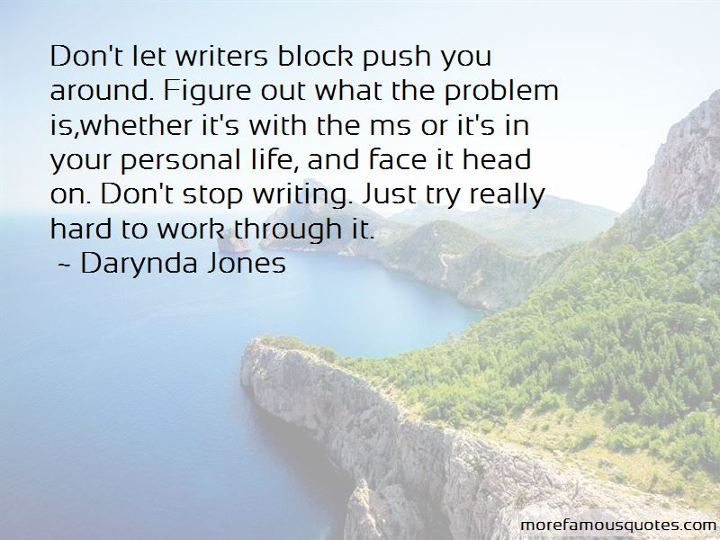 Quotes About Writers Block