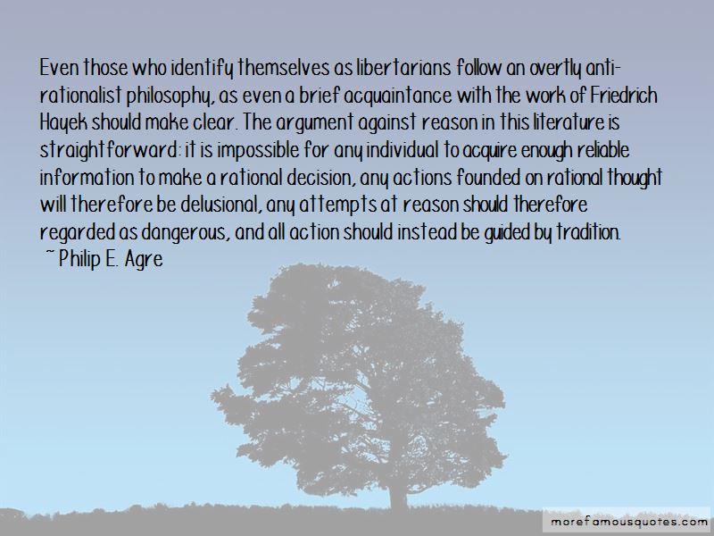 Rationalist Philosophy Quotes