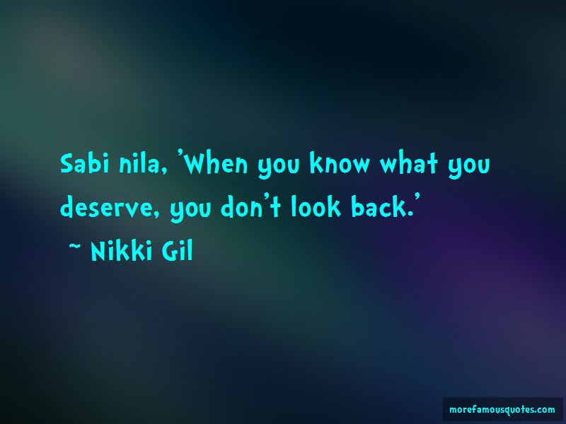 Sabi Nila Quotes