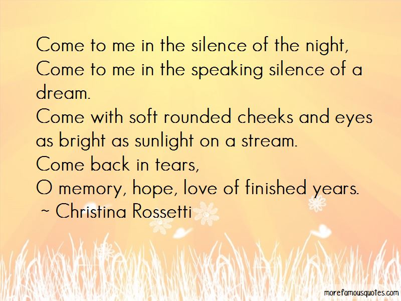 Silence Of The Night Quotes