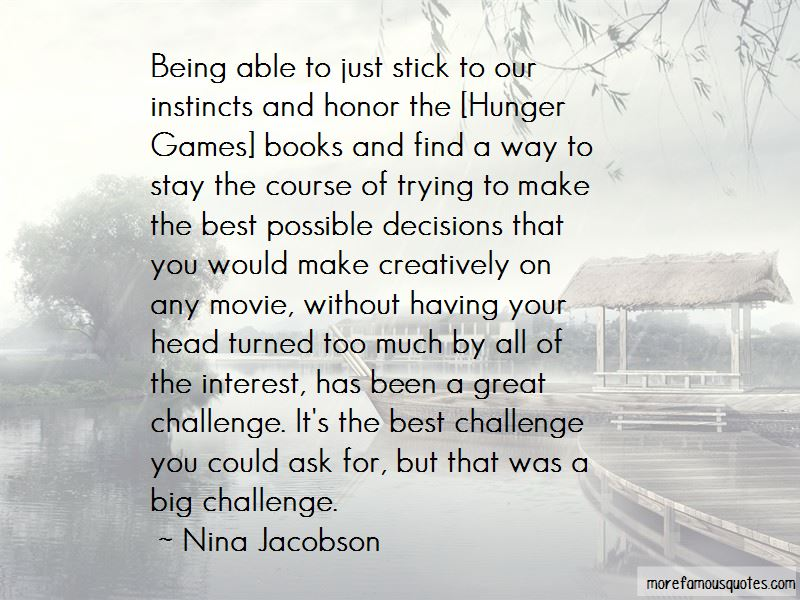 The Best Hunger Games Quotes