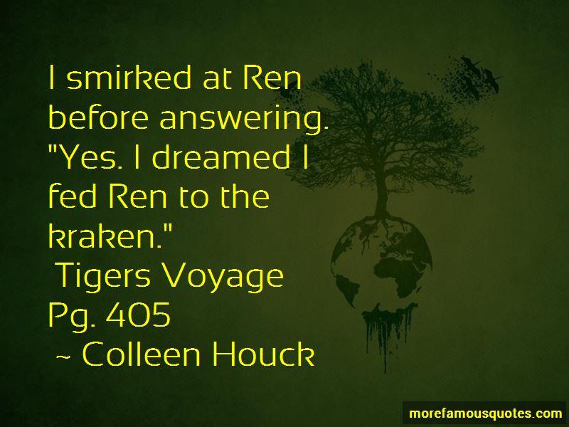 Tiger's Voyage Quotes